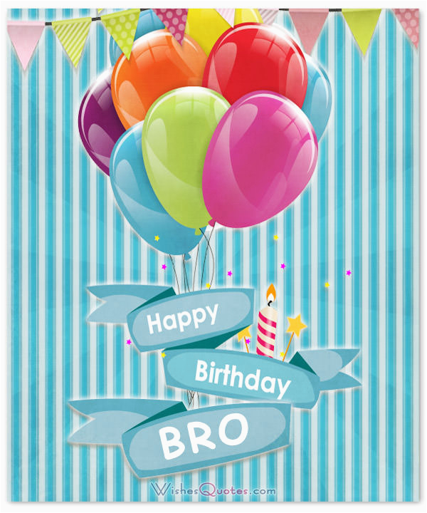 brothers birthday wishes