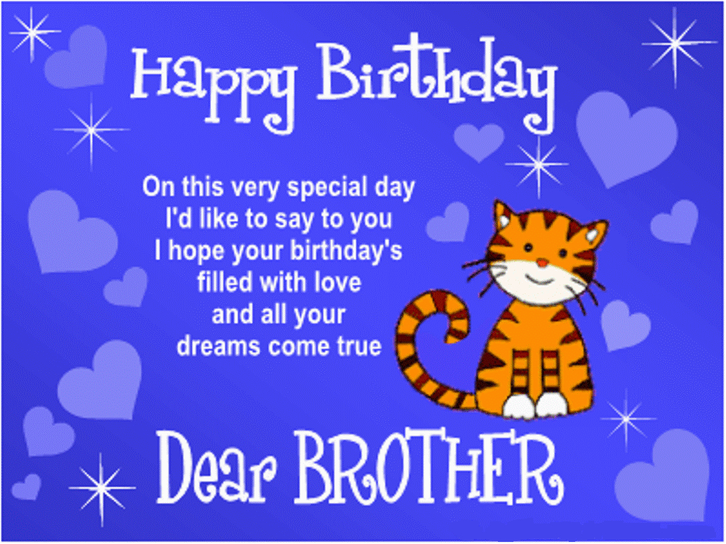 Happy Birthday Cards for Brothers 25 Special Birthday Sms Messages for Brother Wooinfo