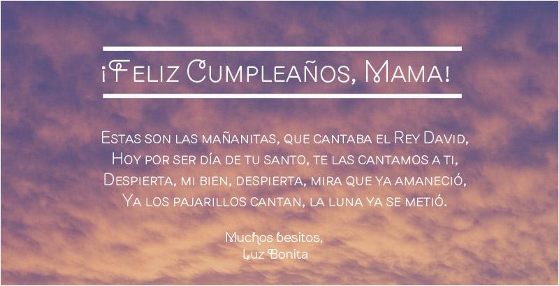Happy Birthday Cards For Mom In Spanish How To Say Wishes
