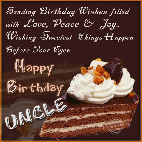 Happy Birthday Cards For My Uncle Wishes Greetings