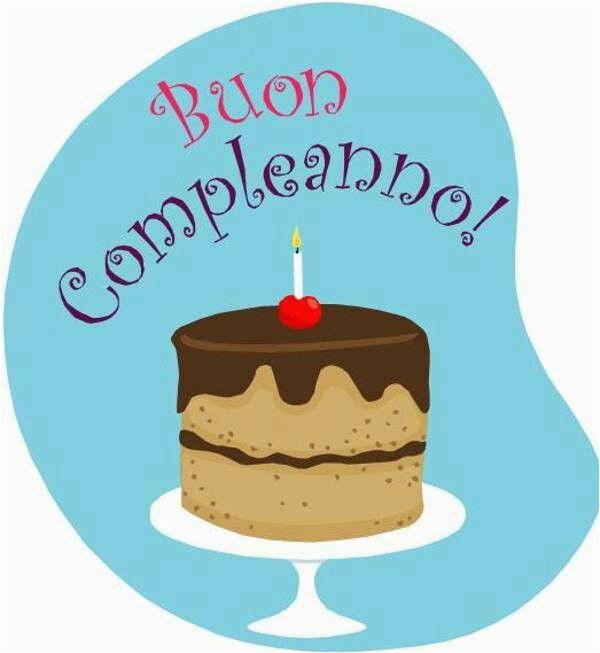 happy birthday in italian