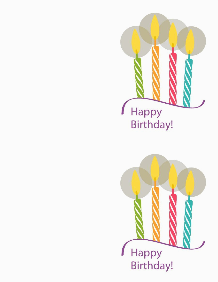 Happy Birthday Cards Printable 40 Free Birthday Card Templates Template Lab