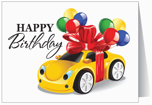 happy birthday to your car 12063 harrison greetings