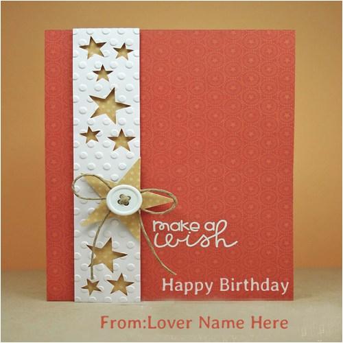 happy birthday cards name edit