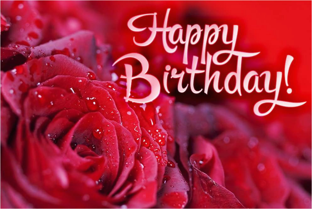 Happy Birthday Cards With Roses Images