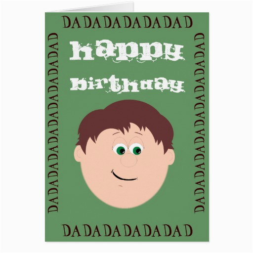 happy birthday dad daughter greeting card 137050255703162868