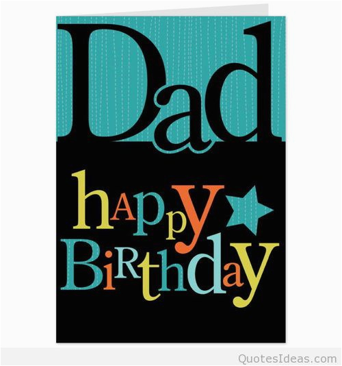 Happy Birthday Dad From Daughter Cards