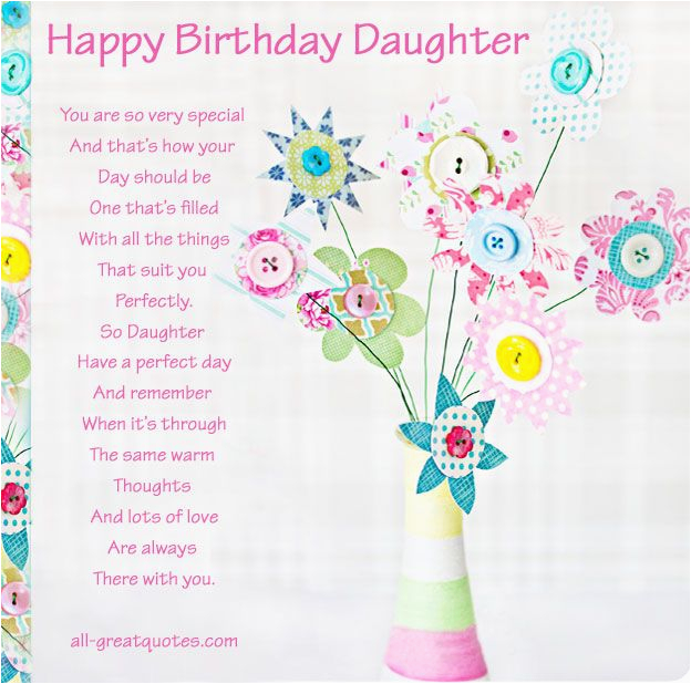 Happy Birthday Daughter Card Images Happy Birthday Daughter For
