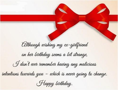 happy birthday ex girlfriend