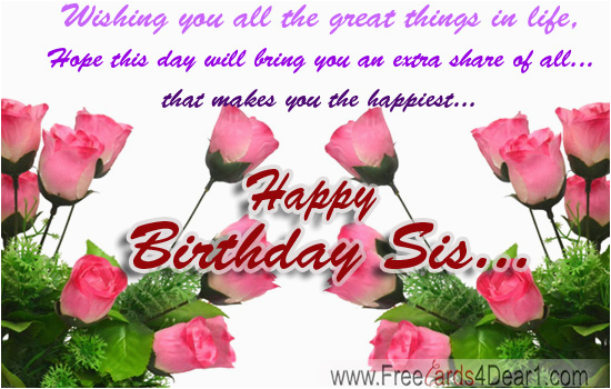 Happy Birthday Flowers For Sister Index Of Wp Content Gallery Ecard