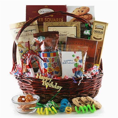 Happy Birthday Gift Baskets for Her Birthday Gift Baskets Happy Birthday Birthday Gift Basket