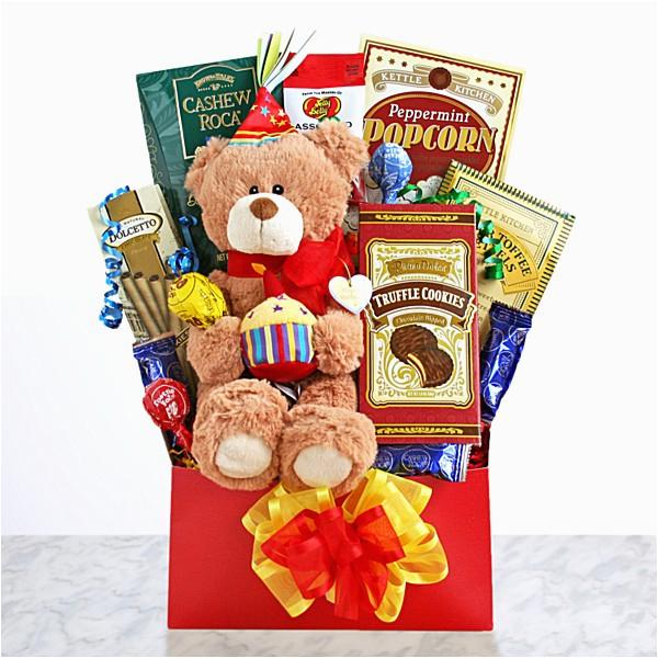 birthday gift baskets send birthday wishes with gift