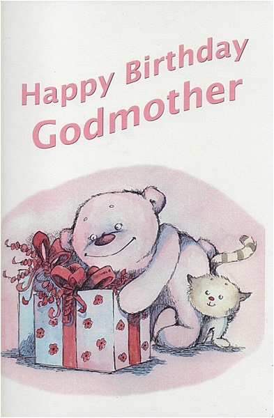 Happy Birthday Godmother Cards Female Relation