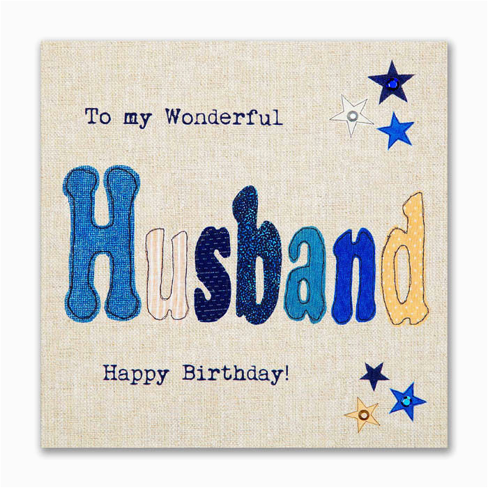 Happy Birthday Greeting Card For My Husband Hubby
