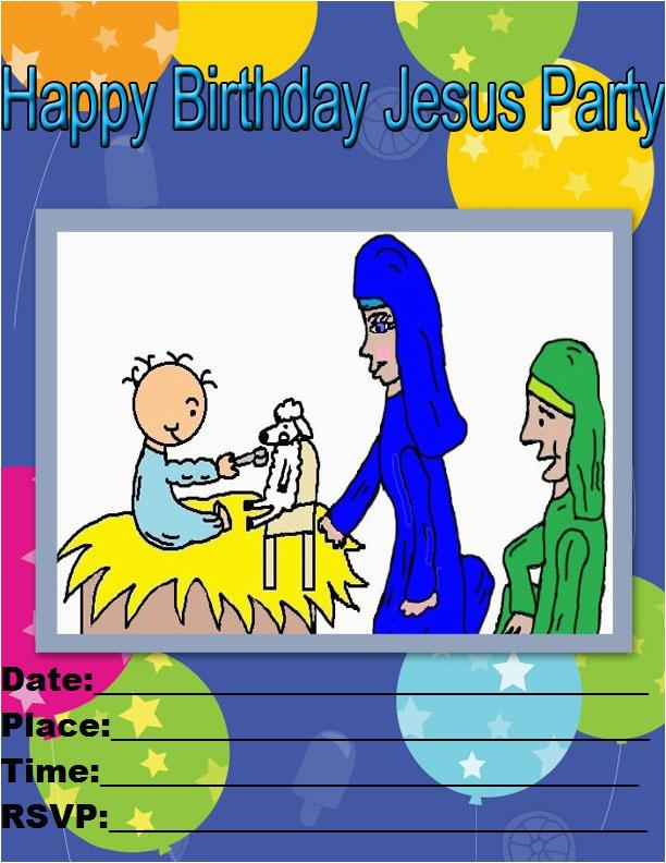 printable happy birthday jesus