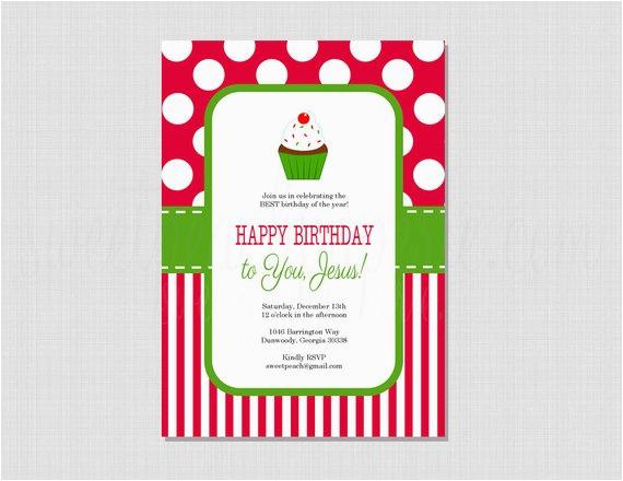happy birthday jesus printable invitation professional 2