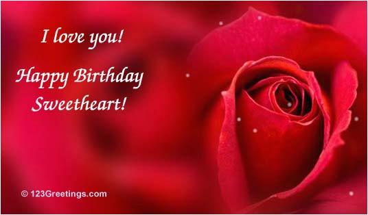 100 romantic love birthday greetings for girlfriend