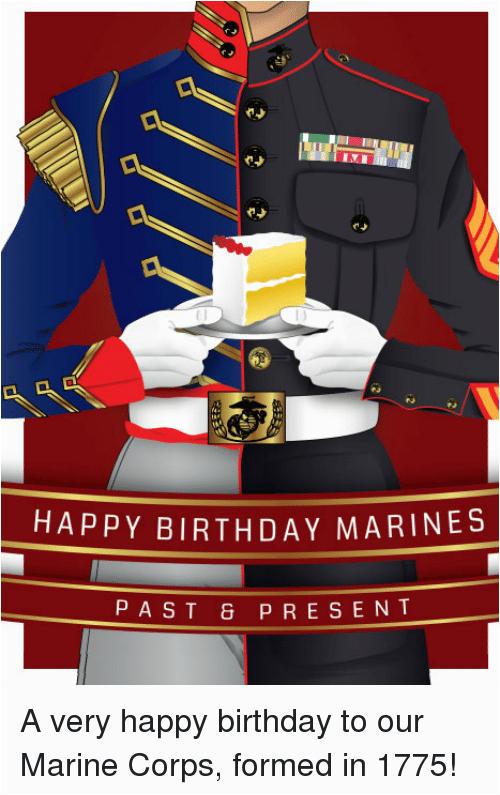 happy birthday marines past present a very happy birthday 981442