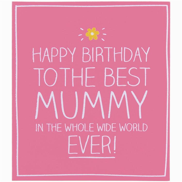 happy jackson happy birthday to the best mummy card