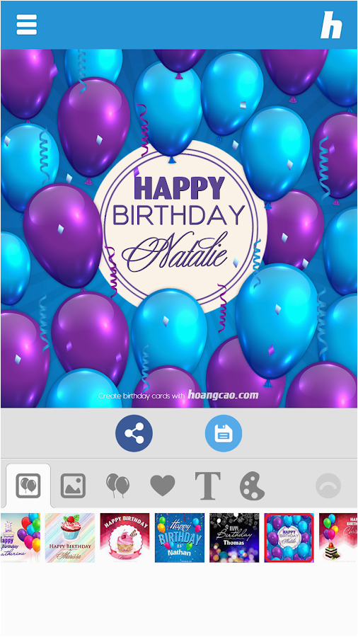 Happy Birthday Photo Card Maker Android Apps On Google Play