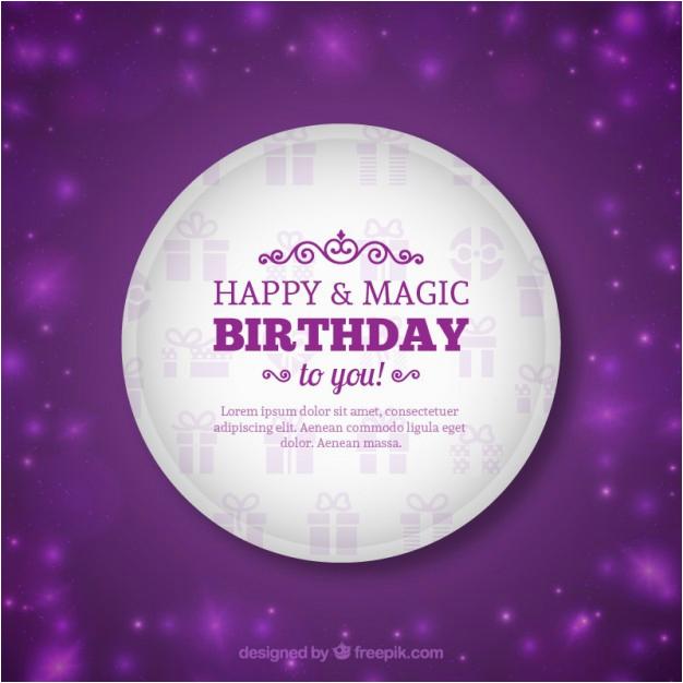 sparkling birthday card 790036