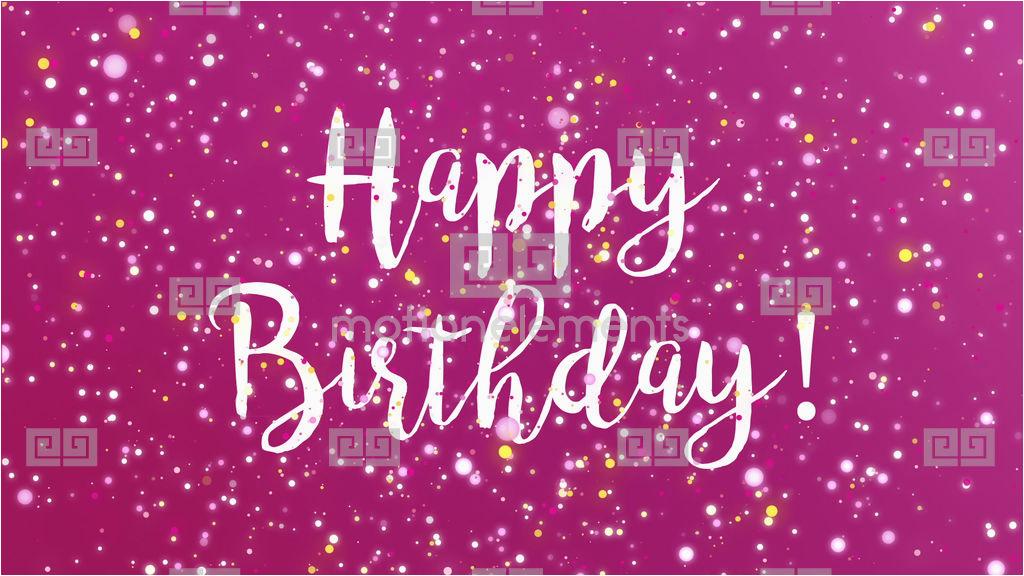 stock video 10389177 sparkly purple happy birthday greeting card video