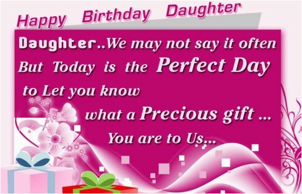 Happy Birthday Step Daughter Greeting Card Wishes For