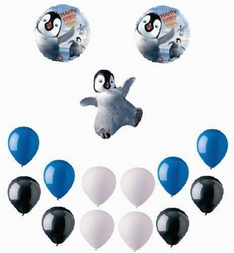 Happy Feet Birthday Decorations Party Supplies Ebay