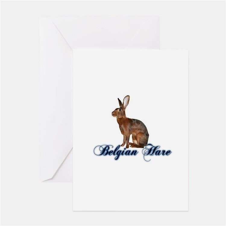 belgian hare stationery