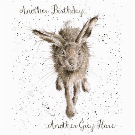 little grey hare card