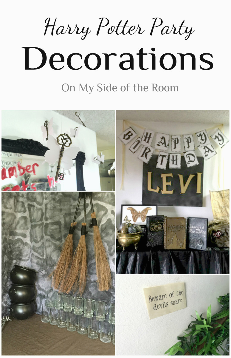 Harry Potter Birthday Decoration Ideas Party Decorations