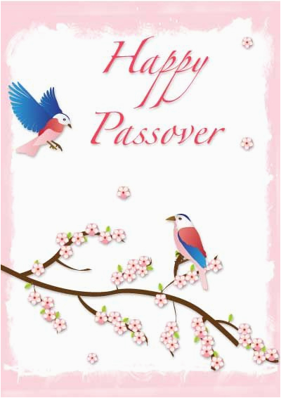 Hebrew Birthday Cards Free Printable Passover My