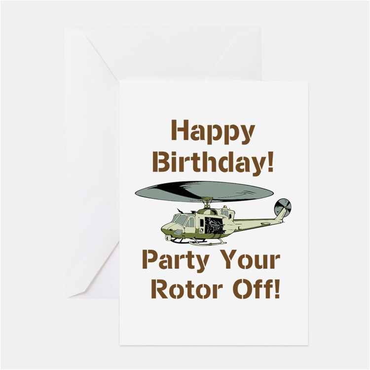 helicopter birthday greeting cards