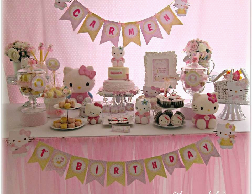 Hello Kitty 1st Birthday Decorations Sweet Quot Carmen 39 S