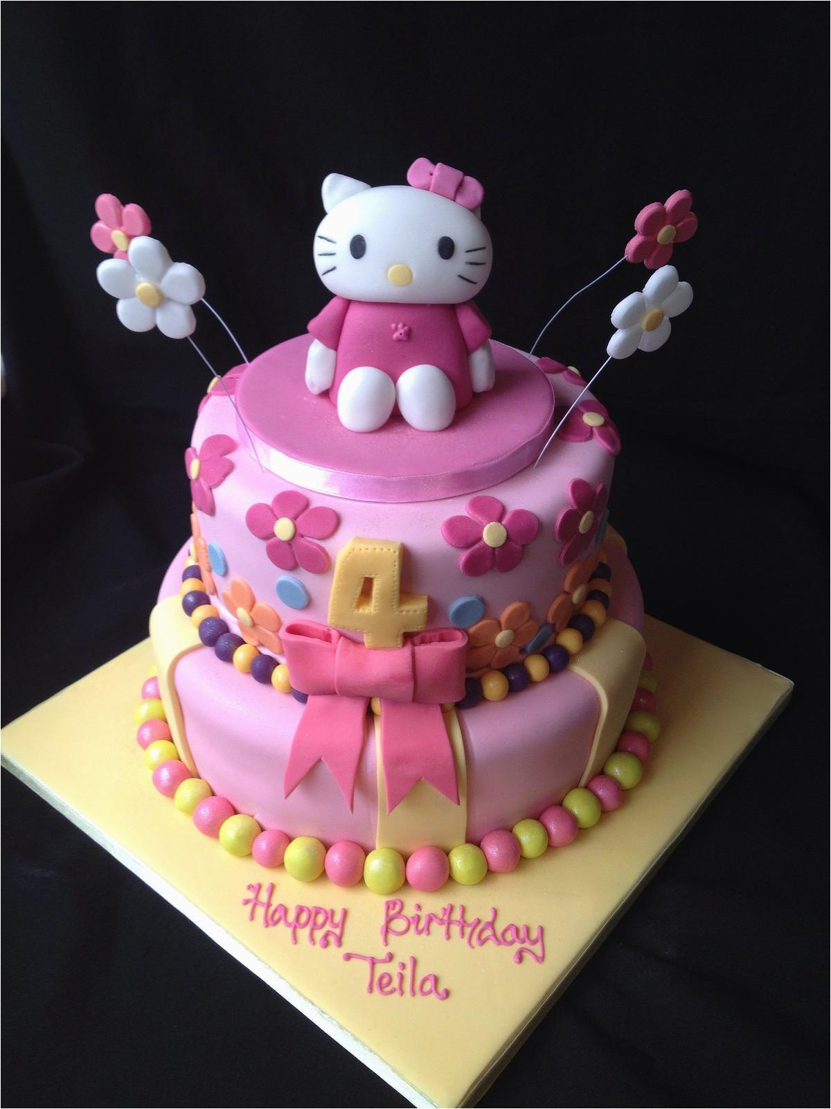 Surprising Hello Kitty Birthday Cake Decorations The Cake Boutique Birthday Cards Printable Benkemecafe Filternl