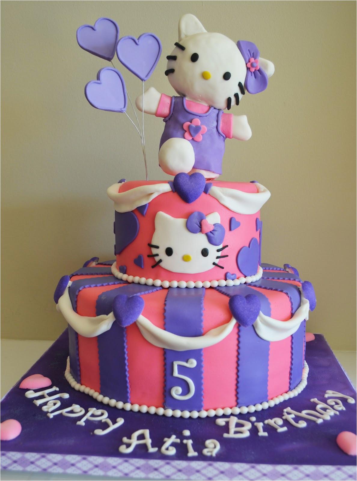 Hello Kitty Birthday Cake Decorations 30 Cute Ideas And Designs Echomon