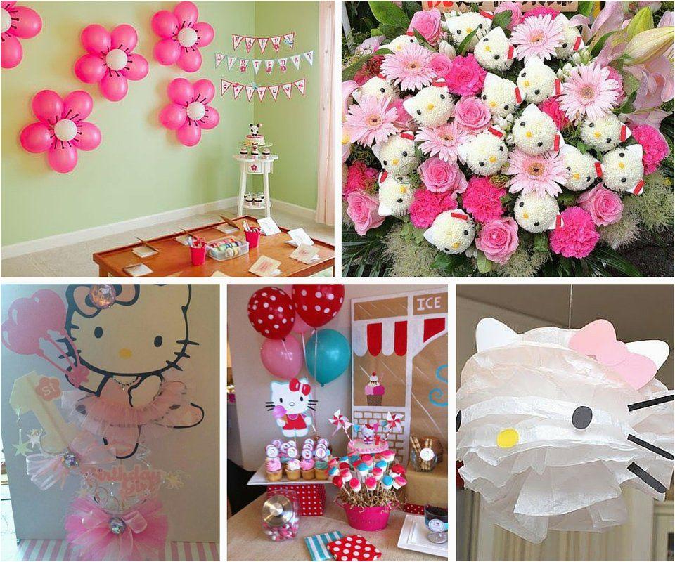 Hello Kitty Birthday Decoration Ideas Birthdaybuzz