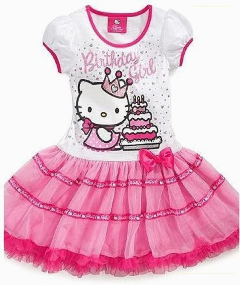 Hello Kitty Birthday Dresses For Toddlers New Sanrio Girls Pink 39 Girl