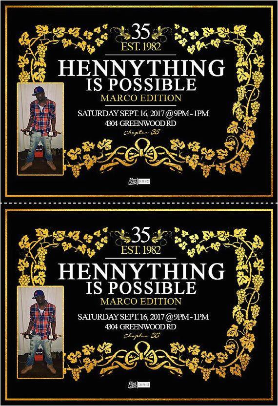 hennessy birthday invitations sean 39 s bday pinterest