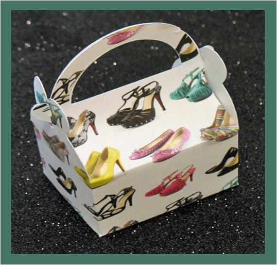 high heel shoes party favor box high
