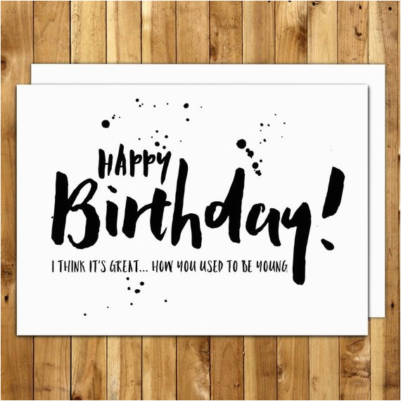 funny birthday card birthday card for him birthday card