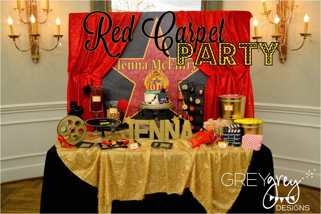 my parties jennas red carpet hollywood