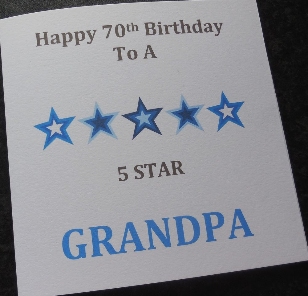 Homemade Birthday Cards For Grandpa Personalised Handmade Card Dad Grandad