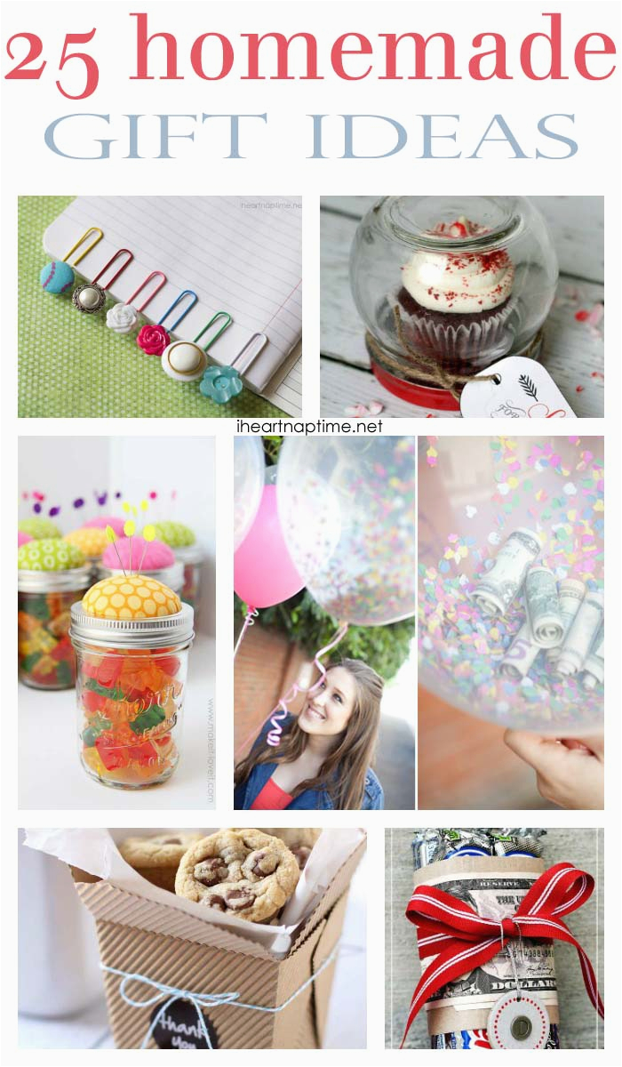Homemade Birthday Gift Ideas For Her 25 Fabulous Gifts I Heart Nap Time