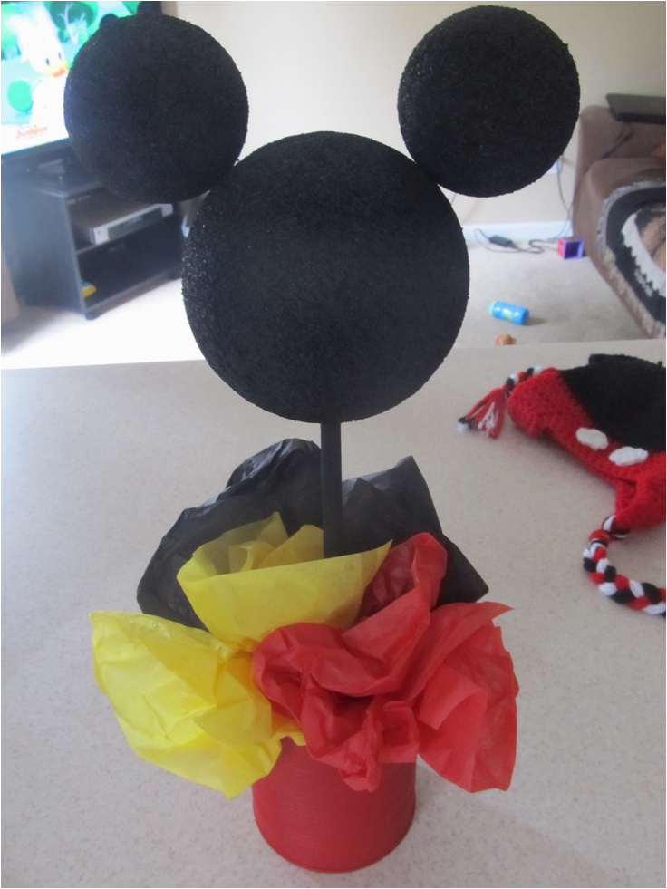 Homemade Mickey Mouse Birthday Decorations 48 Best Images About Diy On