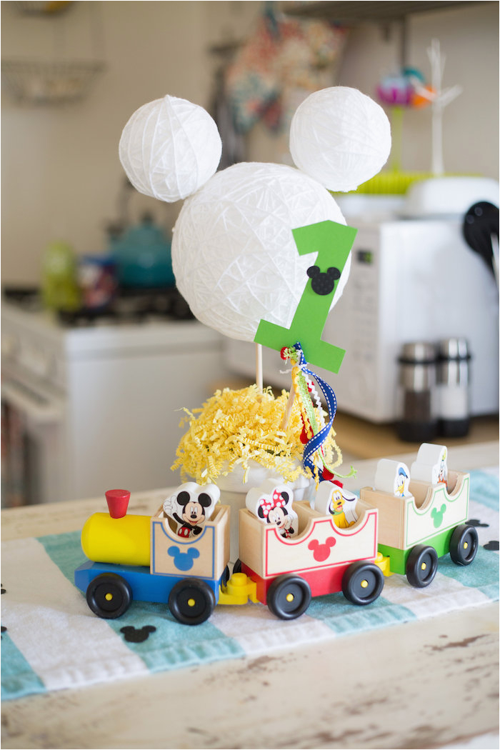 mickey mouse diy birthday party