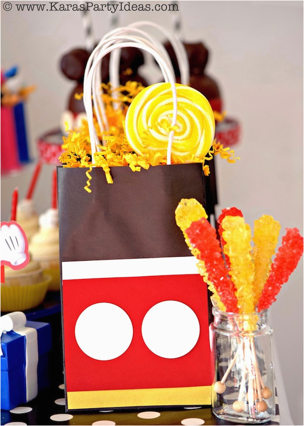 karas mickey mouse themed birthday party