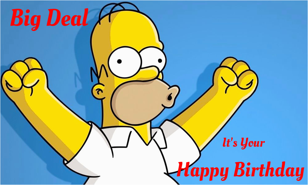 homer simpson birthday ecards