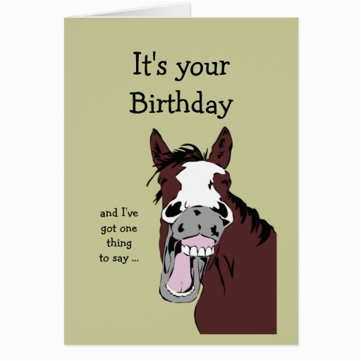 funny birthday quotes with horses