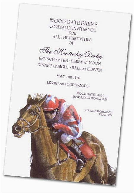 Horse Racing Birthday Invitations 17 Best Images About 2017 Kentucky Derby Party Ideas On